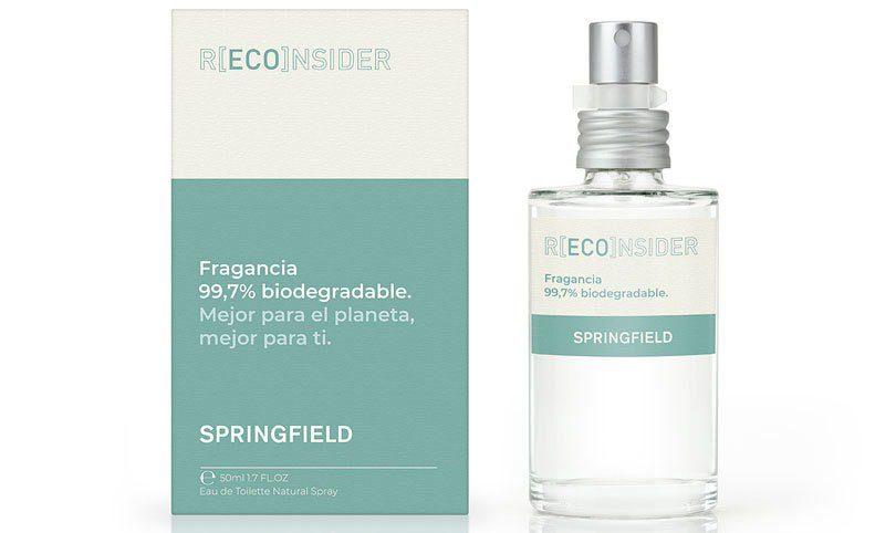 Springfield perfume biodegradable - Conoce el nuevo perfume biodegradable de Springfield