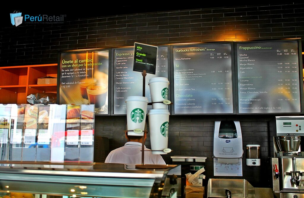 Starbucks 1-Peru Retail