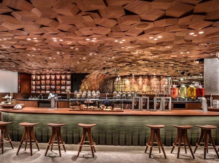 Starbucks Shangai 3 - Starbucks abre en China su tienda más grande del mundo