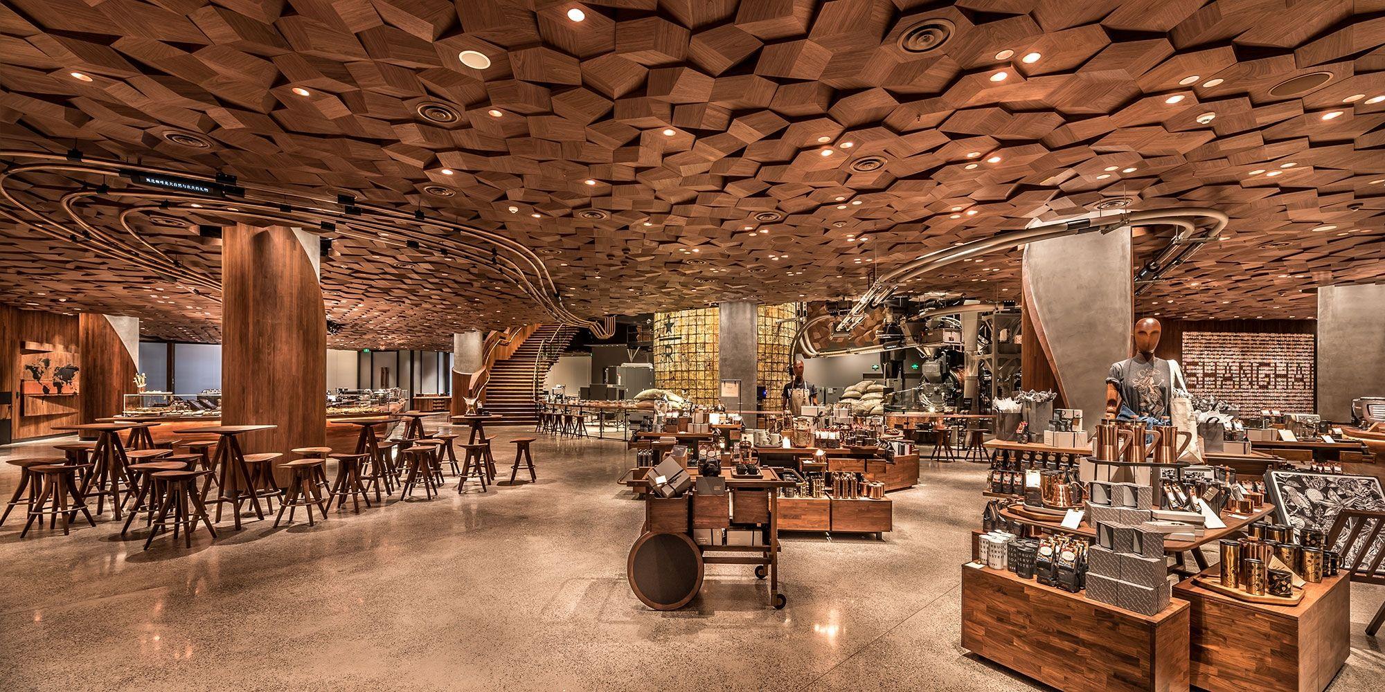 Starbucks Shangai 5 - Starbucks abre en China su tienda más grande del mundo