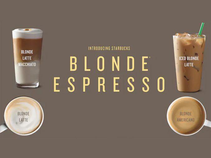 Starbucks cafe expreso rubio eeuu - Starbucks lanza nuevas presentaciones de su café expreso