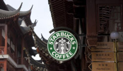 Starbucks tiendas en China