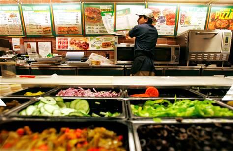 Subway 3 - Subway cerraría 500 locales en EE.UU. para enfocarse en su negocio internacional
