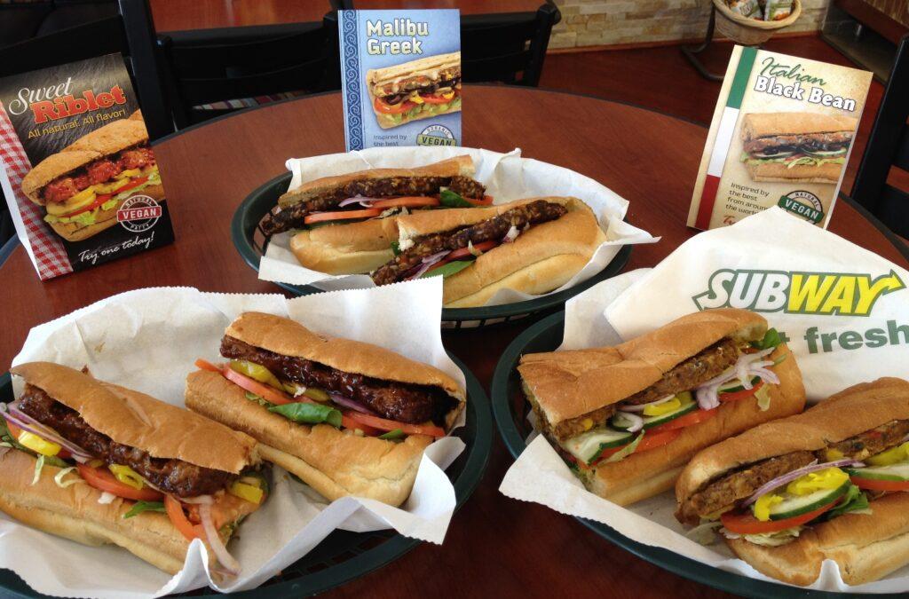 Subway Vegan sandwiches 1024x675 - Subway cerró más de 900 tiendas en Estados Unidos durante el 2017