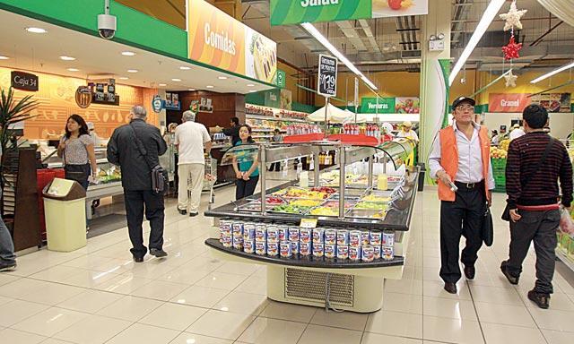 Supermercados y tiendas por departamentos desaceleran sus ventas en el mercado peruano