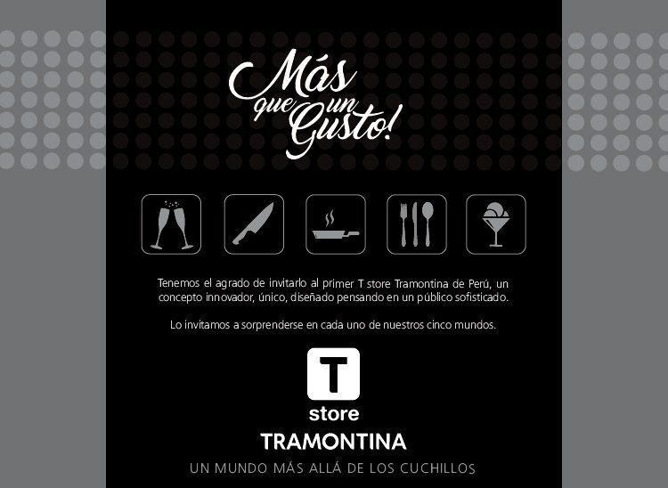 T Store Peru 1 - Tramontina abrirá su primera tienda en Perú