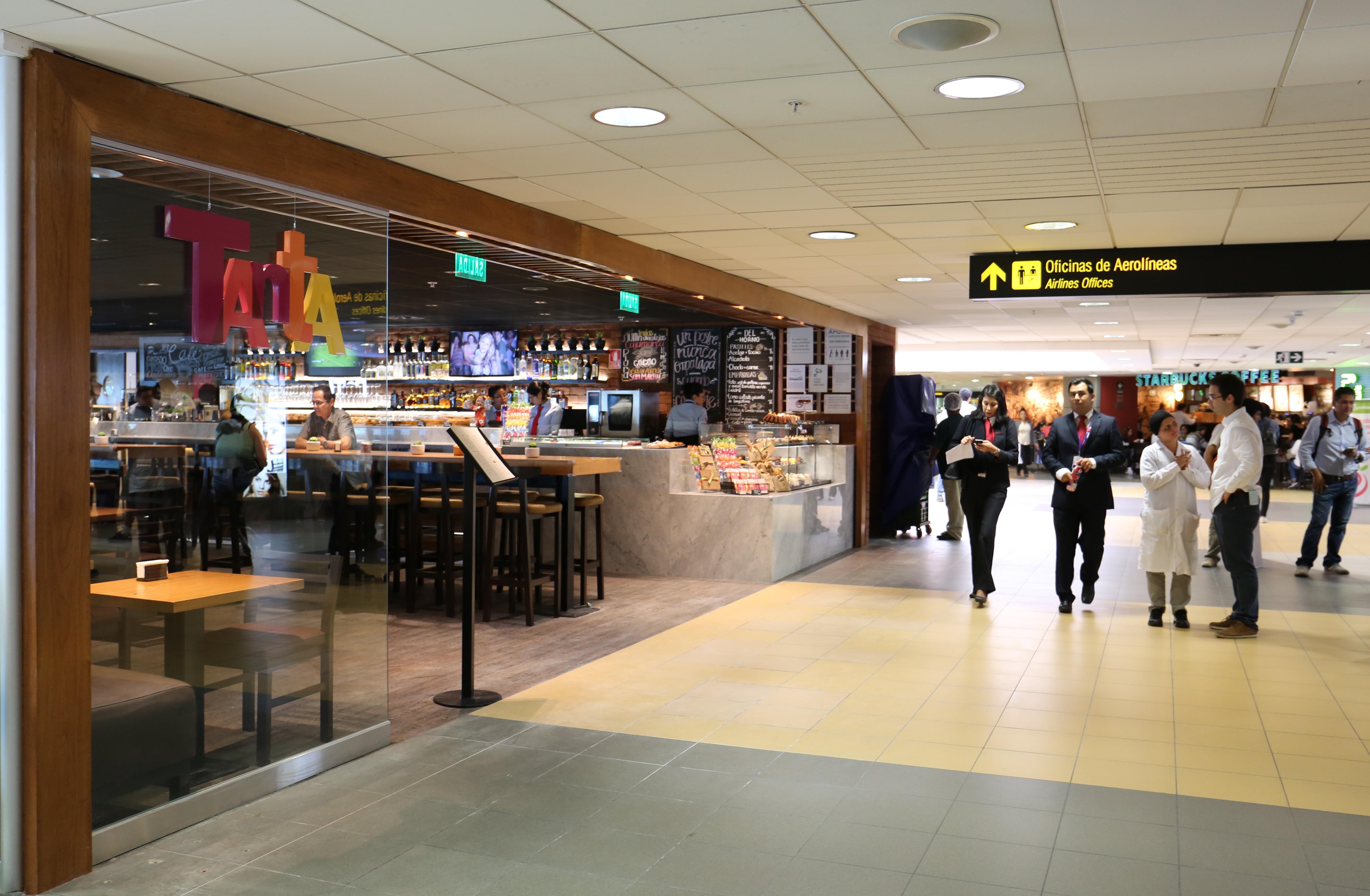 TANTA - Aeropuerto Internacional Jorge Chávez recibe a Tanta y Delicass