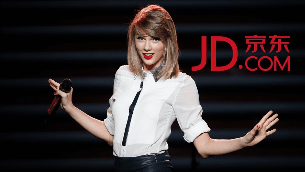 Taylor Swift llevará su colección de moda a través de JD.com a China