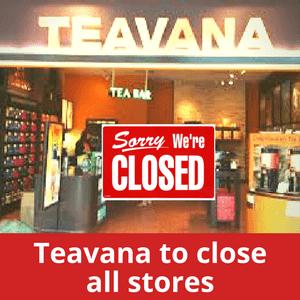 Teavana to close all stores min - Minoristas cerrarán más tiendas este año en Estados Unidos