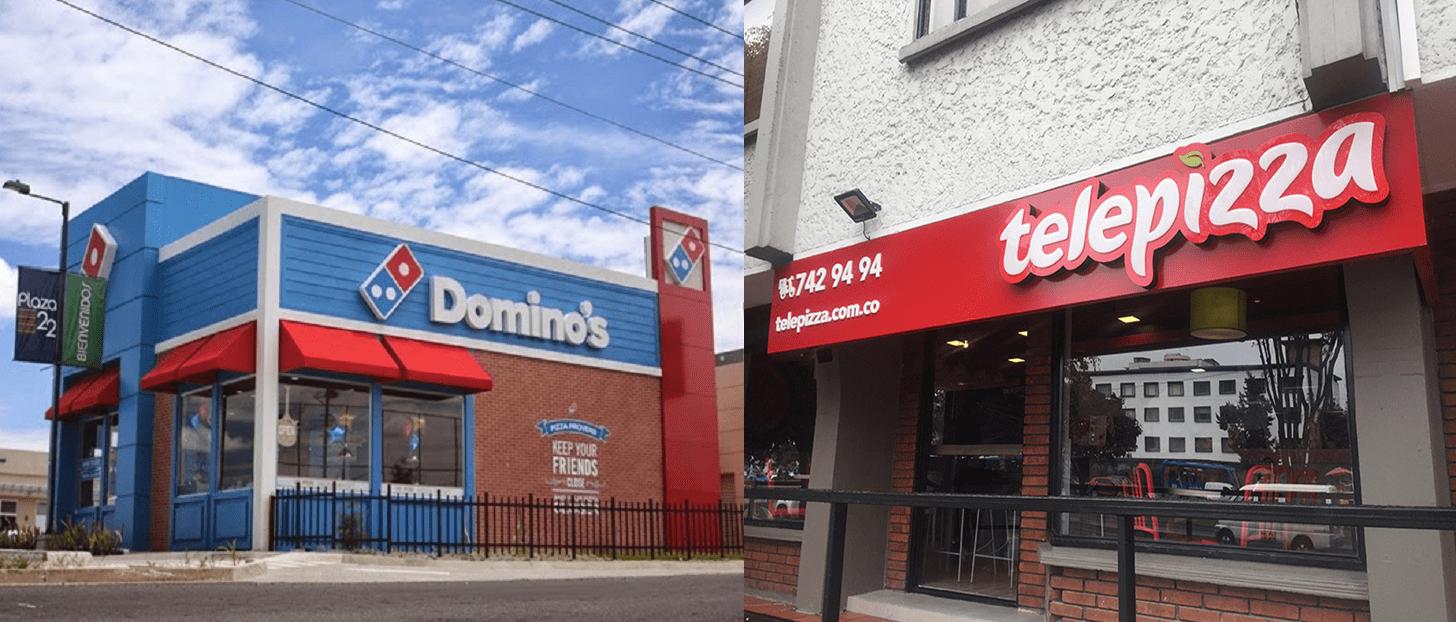 Telepizza dominos pizza - Domino's Pizza y Telepizza generan el 90% de sus ventas vía delivery