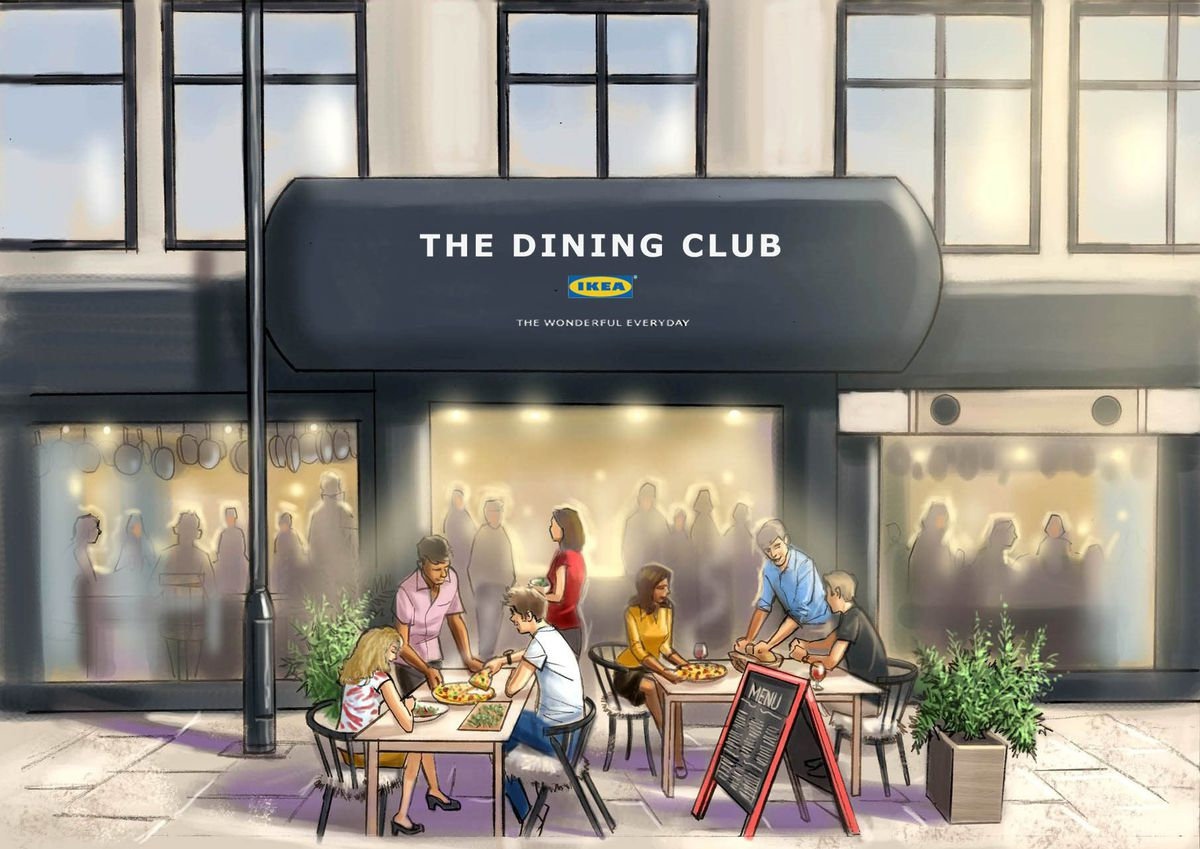 The_Dining_Club_by_IKEA_outside_sketch