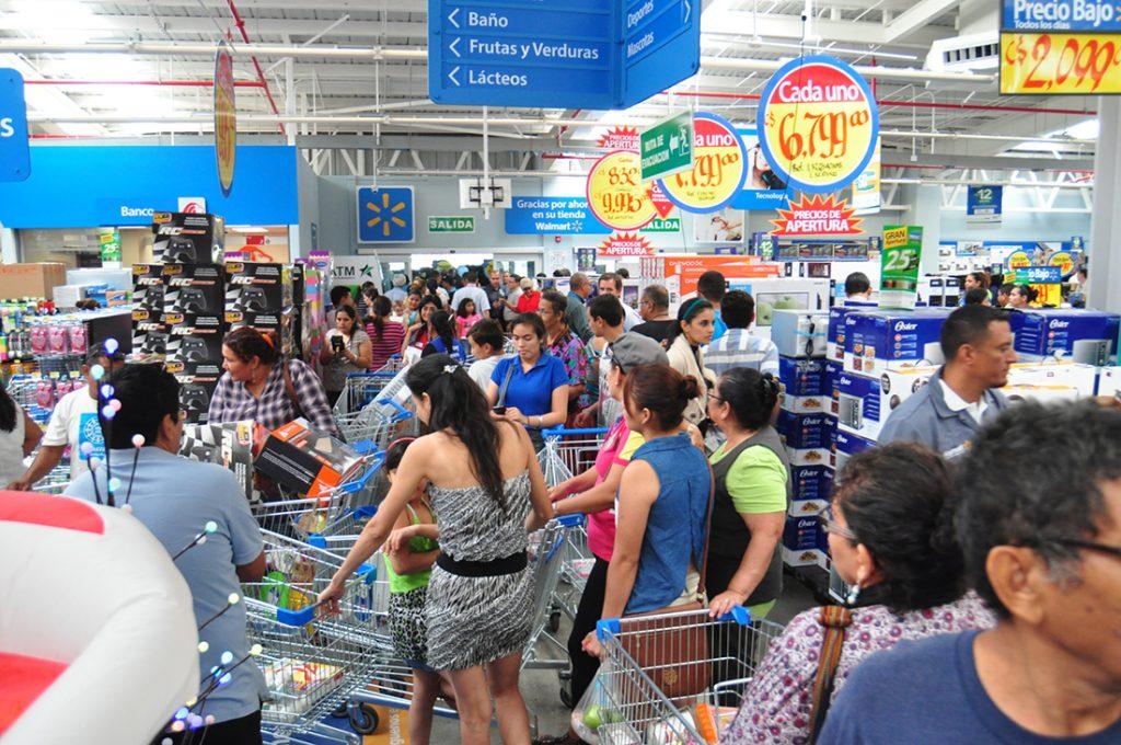 Tienda Walmart 1024x680 - Walmart se alía a Tencent para afrontar a Alibaba en el sistema de pagos chino