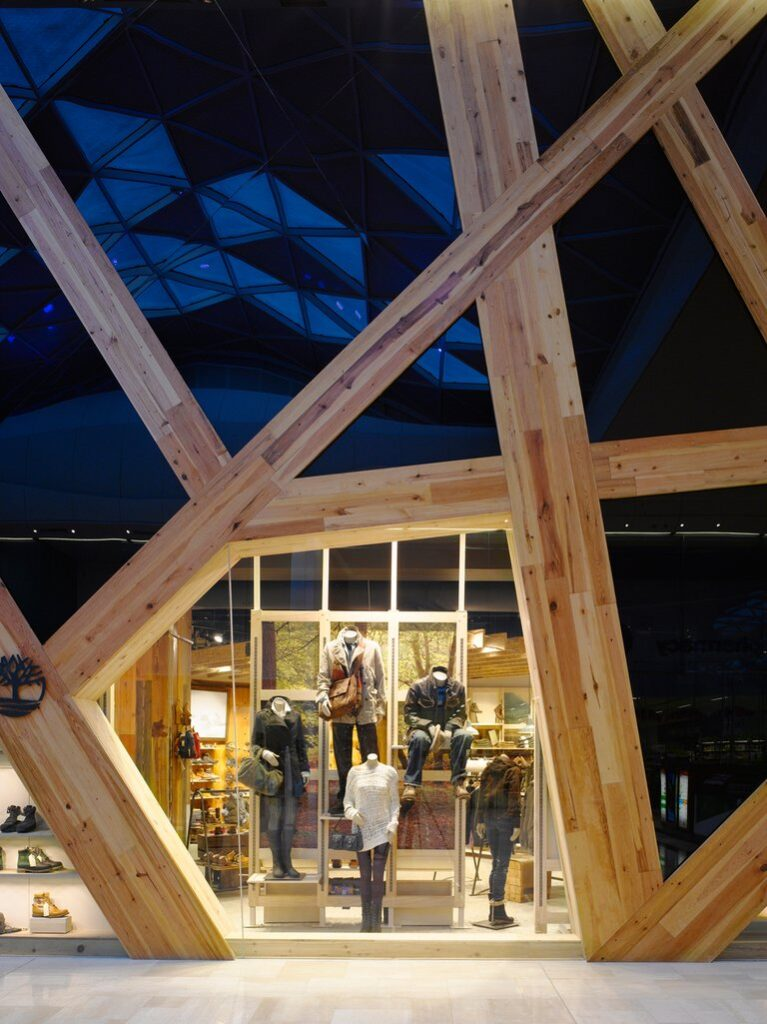 Timberland Westfield-feature window