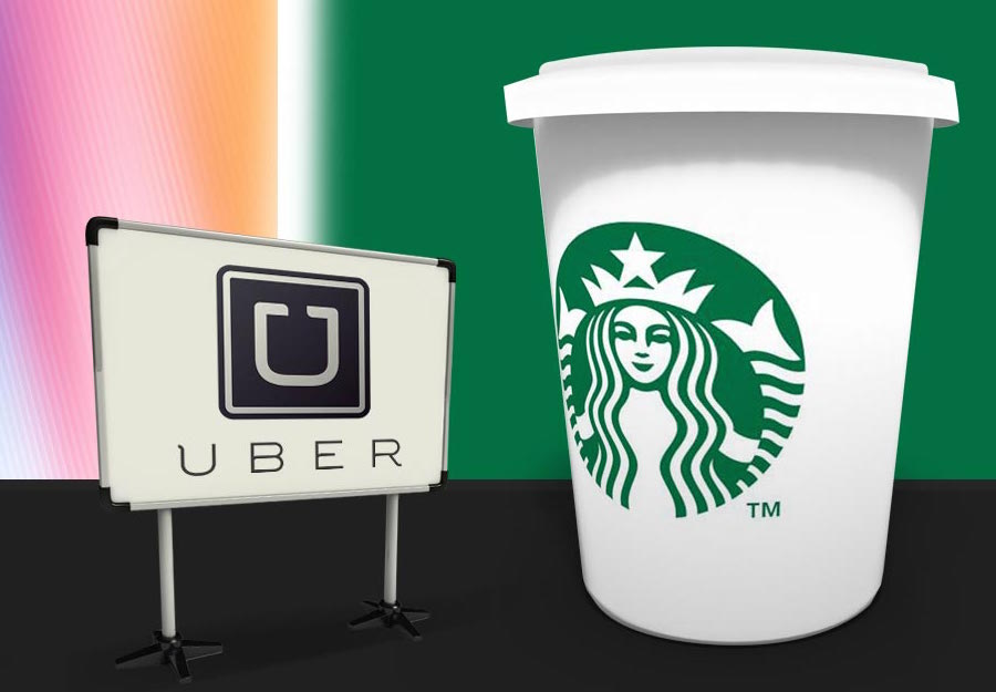 Uber y Starbucks