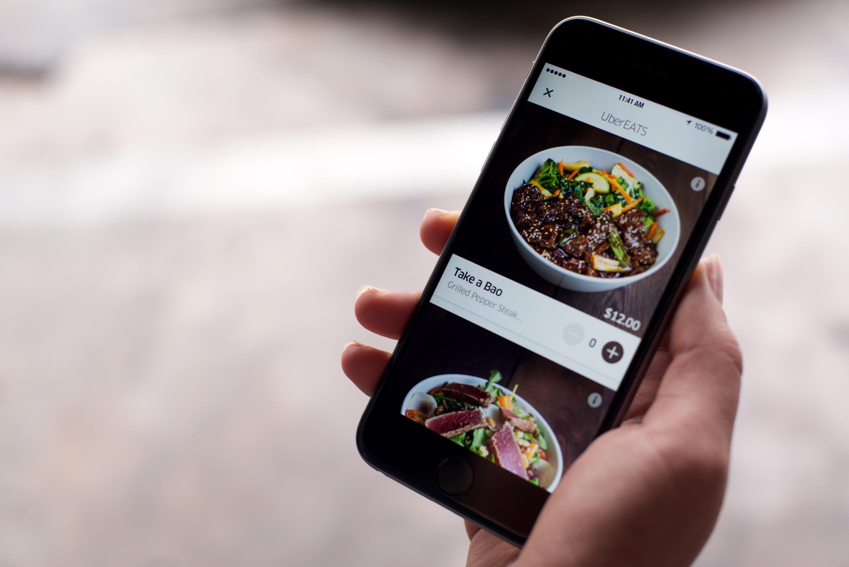 UberEats 1 - Aplicaciones móviles de reparto a domicilio crecen en Ecuador