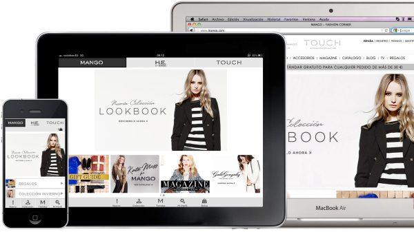 Usuarios compran moda en dispositivos móviles