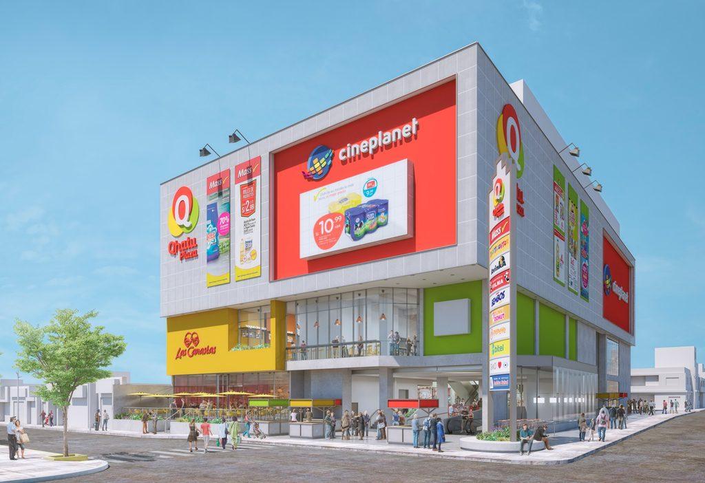 VISTA MALL FINAL Peru Retail - Qhatu Plaza, el nuevo mall vecinal de Santa Clara