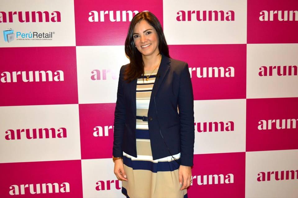 Vanessa Chavez Gerente de Marca de Aruma - Aruma abre nueva tienda en MegaPlaza de Independencia