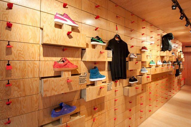 Varied Plan puma - La importancia del visual merchandising en el retail