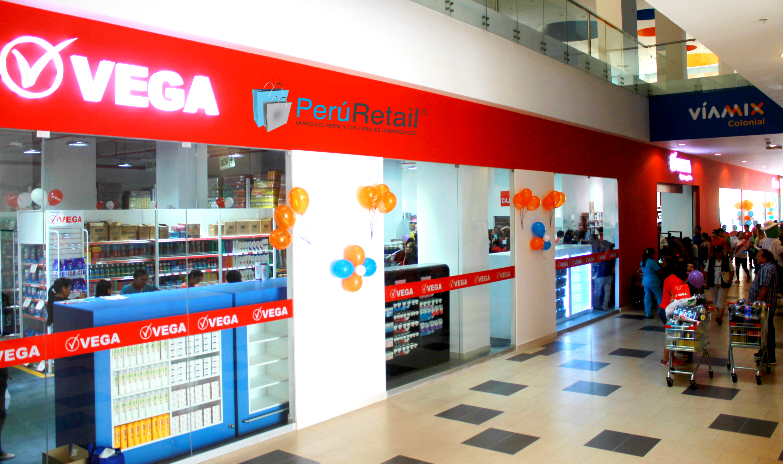 Vega 4697 Peru Retail - Vega inaugura local en Via Mix Colonial