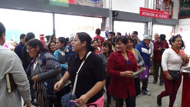 Vega en Villa Maria 3 - Perú: Vega Supermayorista prevé llegar a los 100 mil tickets al mes en Villa El Salvador