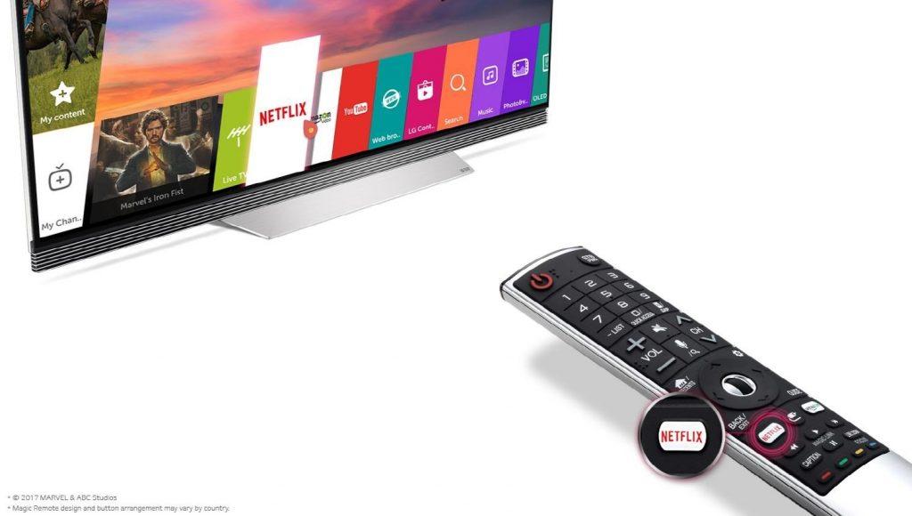 Ventajas de los televisores LG para disfrutar de Netflix 1024x580 - ¿Qué beneficios tienen los Smart TV?