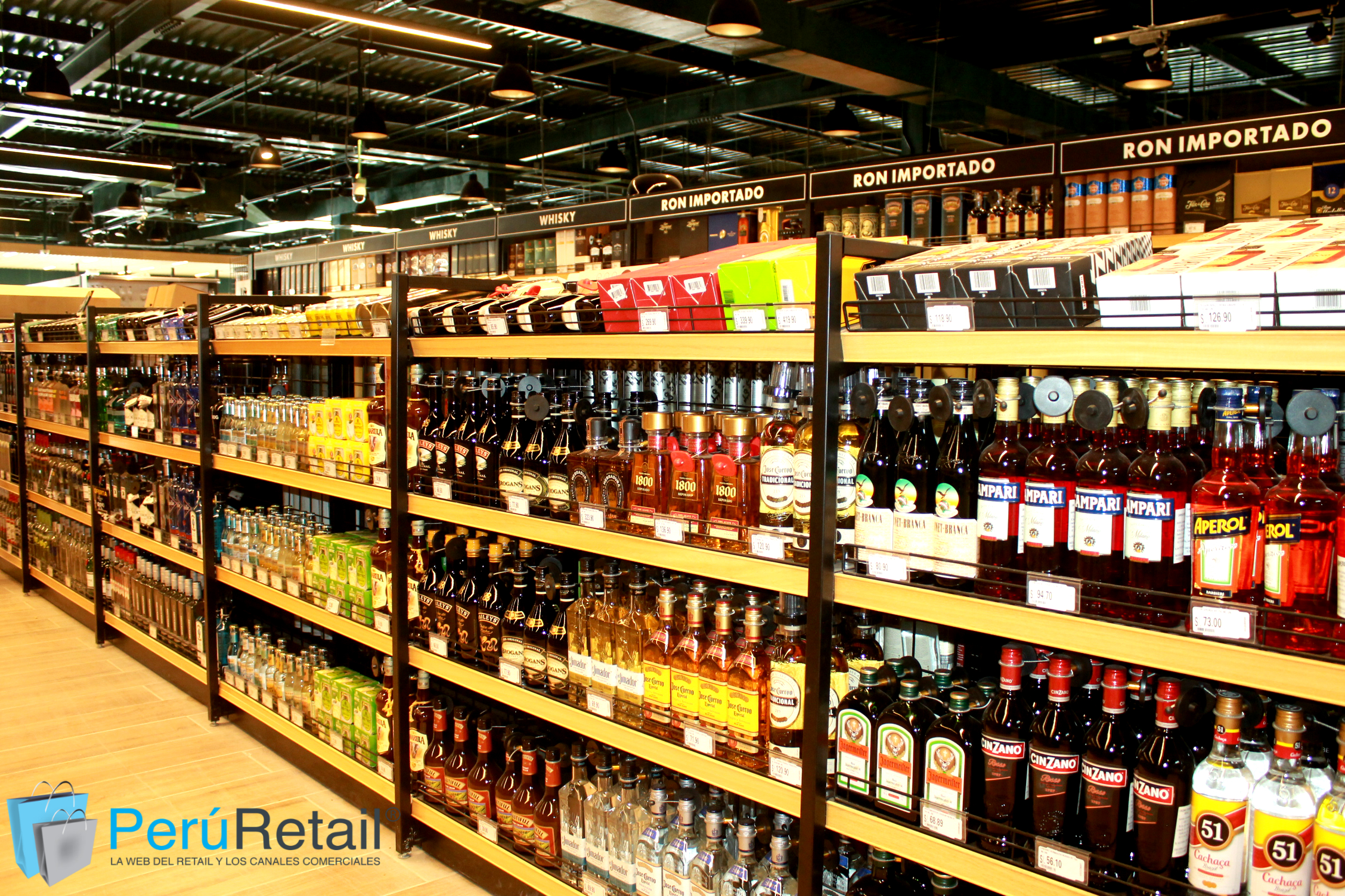 Vivanda Asia 1 Peru Retail - Sector licores crecería 10% en Perú este 2018