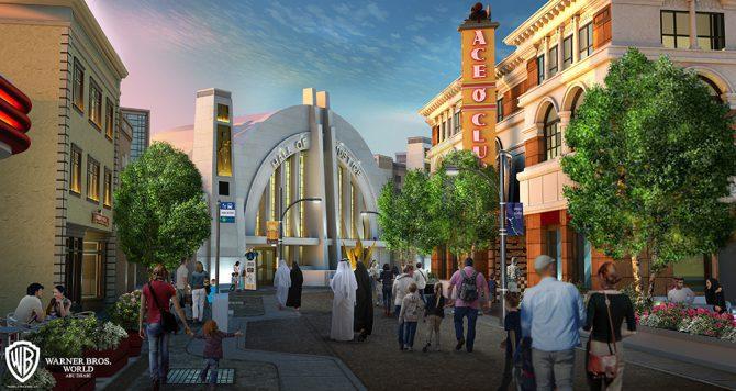 WARNER metropolis - Parque temático de Warner Bros abrirá en Abu Dhabi