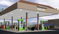 WalMart Neighborhood Market oil station