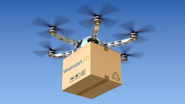 Walmart utilizará drones para servicio de entrega a domicilio