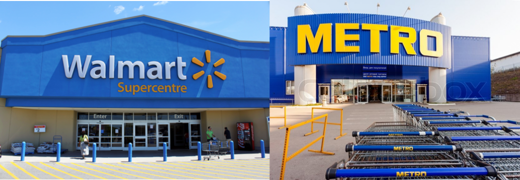 Walmart y Metro