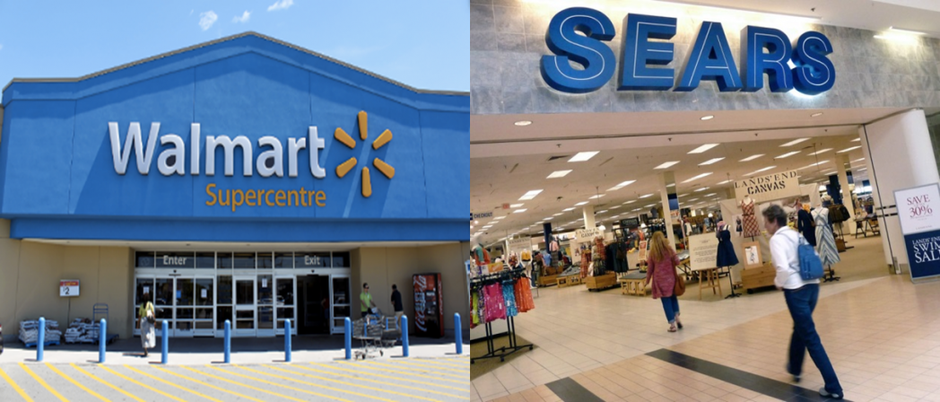 Walmart y Sears