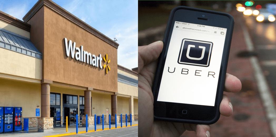 Walmart y Uber