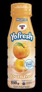 YOFRESH DURAZNO 140x300 - Perú: Gloria amplía su portafolio de productos con el lanzamiento de Yofresh