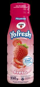 YOFRESH FRESA 140x300 - Perú: Gloria amplía su portafolio de productos con el lanzamiento de Yofresh