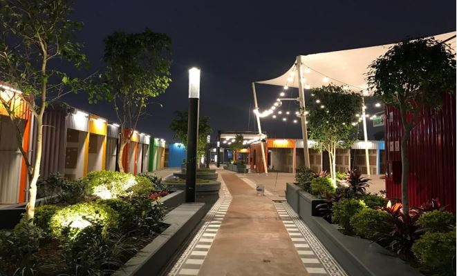 YOY lima box park contenedor - Este domingo abre sus puertas la primera plaza de gastronomía y entretenimiento del Perú