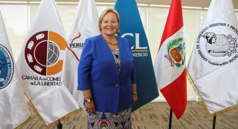 """Yolanda Torriani del Castillo - CCL: """"Hay que eliminar las barreras burocráticas en el Perú"""""""