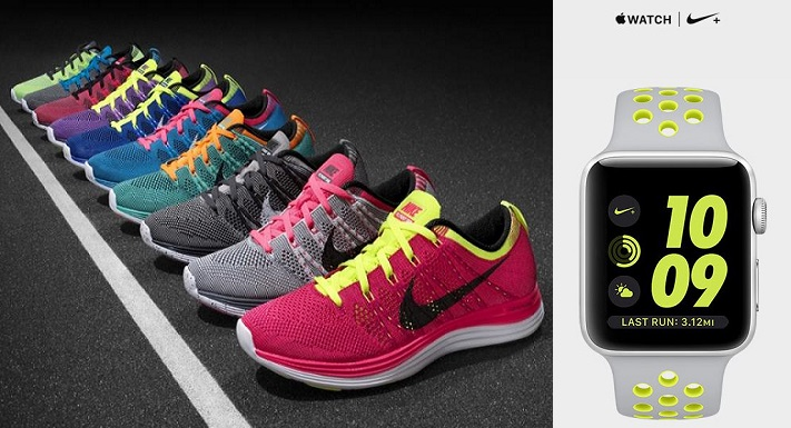 Zapatillas Nike y apple watch - Nike lanza línea de zapatillas compatibles con Apple Watch