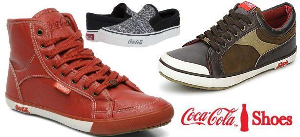Zapatillas de Coca Cola
