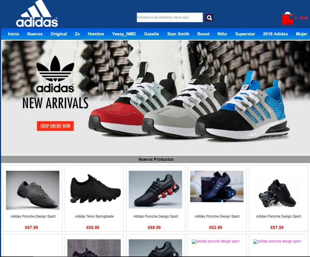 adidas ecommerce 1024x849 - Perú: Estas son las provincias donde Adidas ingresaría con tiendas franquiciadas