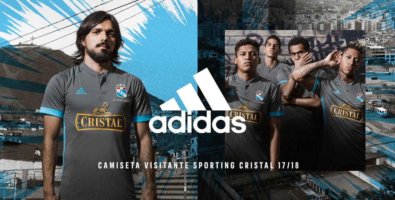 adidas sc peru - Adidas presentó camiseta alterna de Sporting Cristal