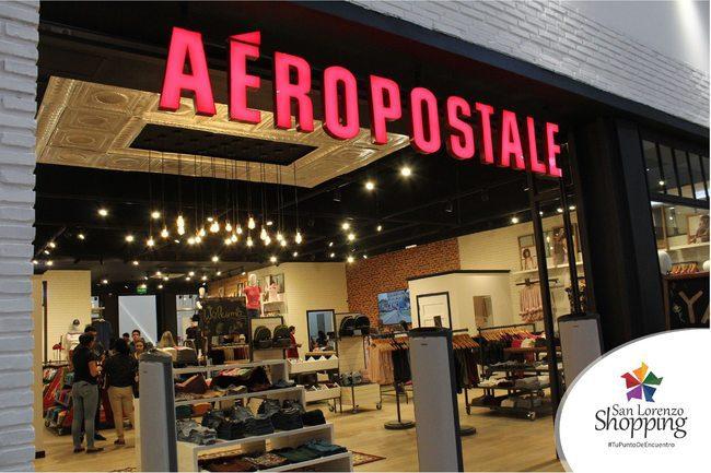 aeropostale - paraguay