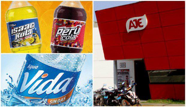 aje nuevas marcas - Ajegroup compra marcas de Grupo Perú Cola