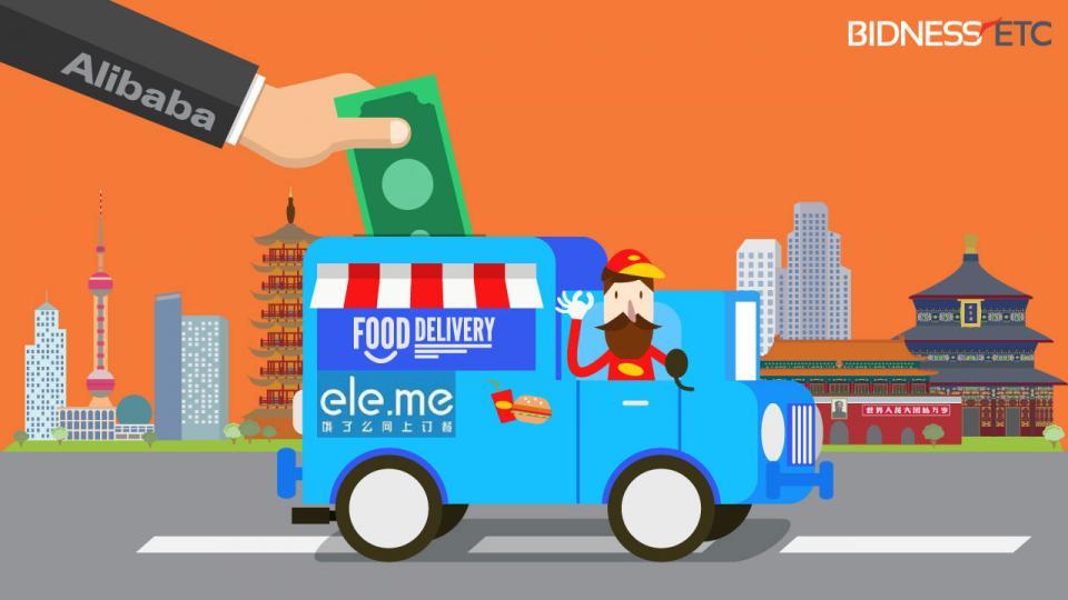 alibaba eleme - Alibaba concreta compra de la app de reparto de comida a domicilio Ele.me