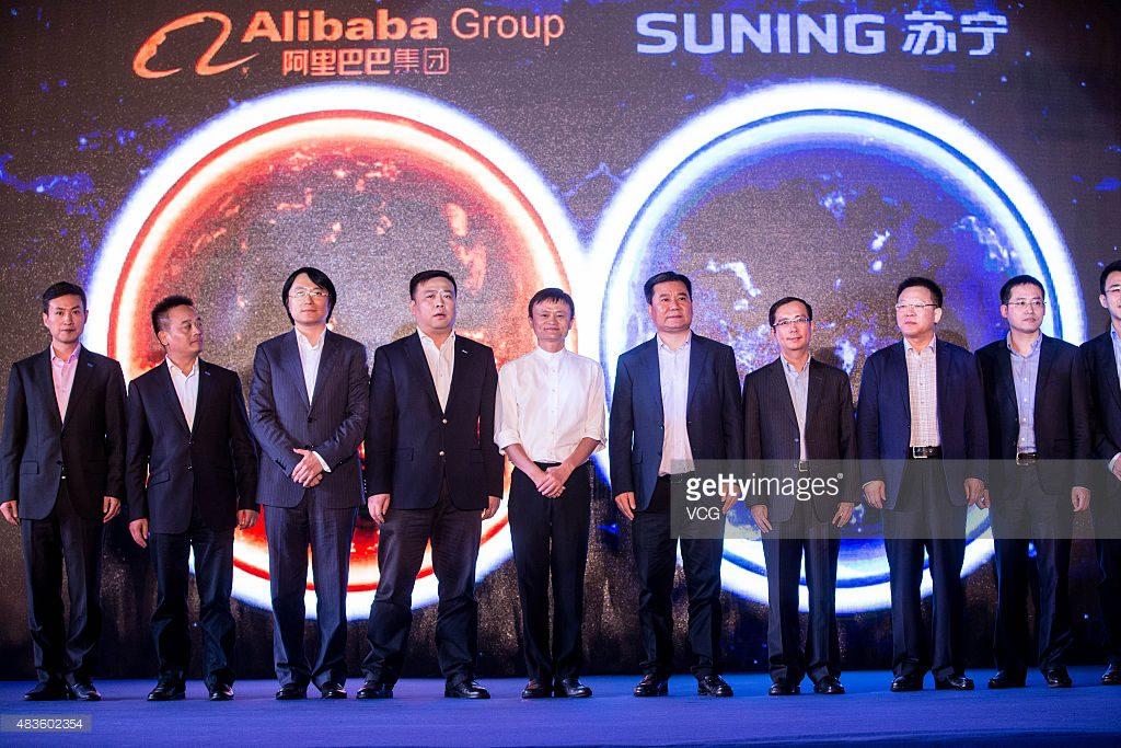 alibaba suning - Alibaba apuesta por el mercado offline