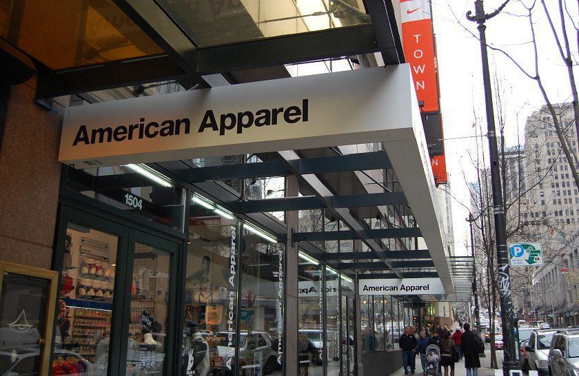am apparel - American Apparel se declara en quiebra por segunda vez