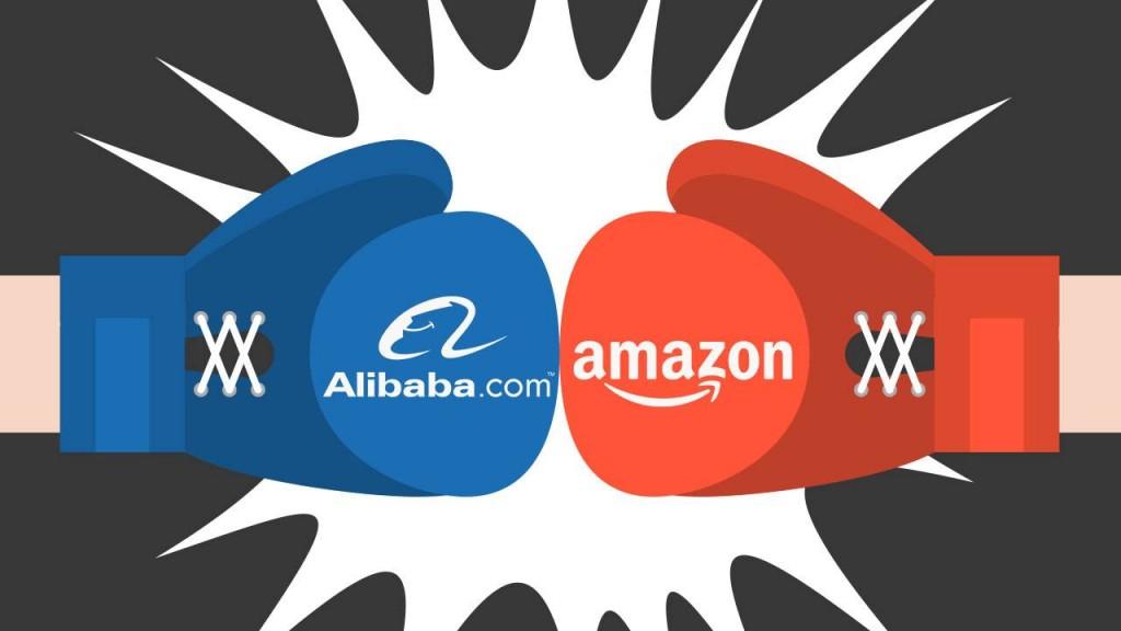 amazon alibaba 1024x576 - ¿Cuáles son las marcas de retail más valiosas del mundo en 2019?