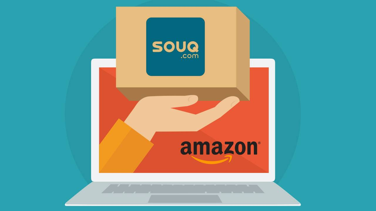 amazon and Souq.com 1 - Amazon planea ingresa al Medio Oriente con la compra de Souq.com