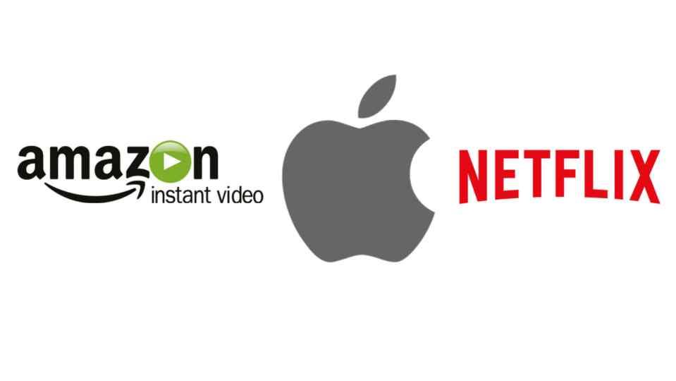 amazon apple netflix - Apple intentará competir contra Netflix y Amazon en el mercado del cine