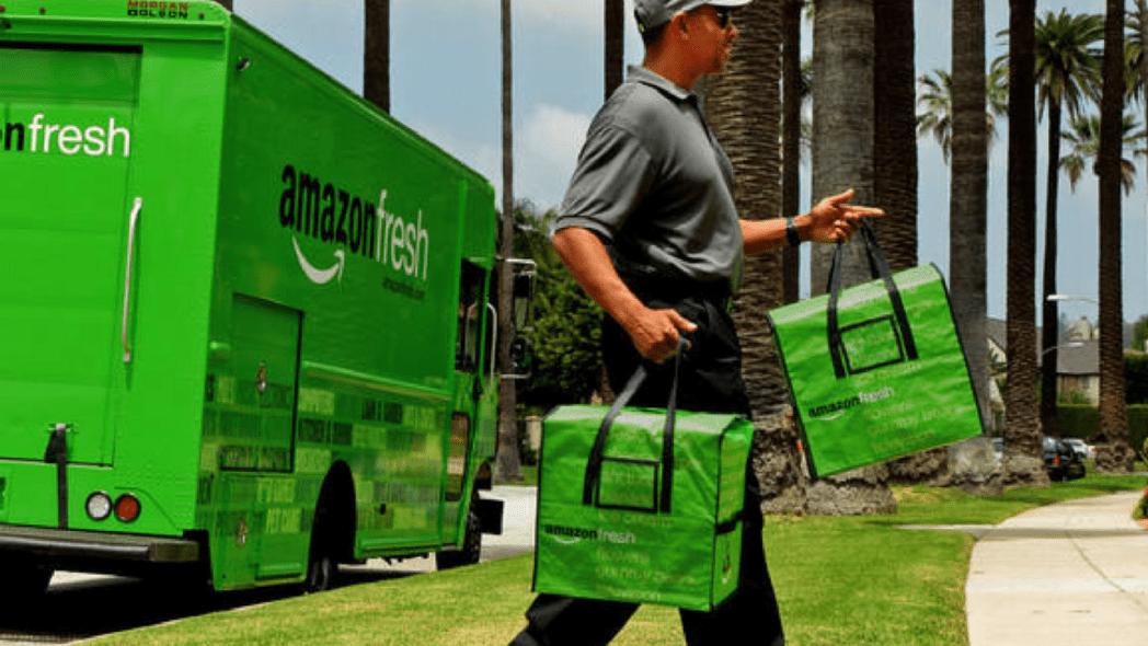 amazon fresh - Amazon tendrá delivery gratis de comida para destronar a Walmart en EE.UU.
